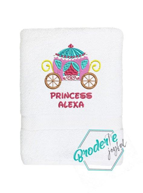 Prosop de baie brodat princess