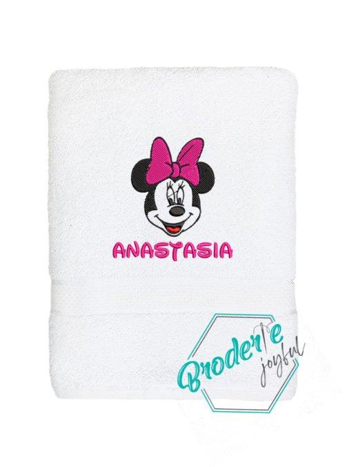 Prosop de baie brodat Anastasia baby