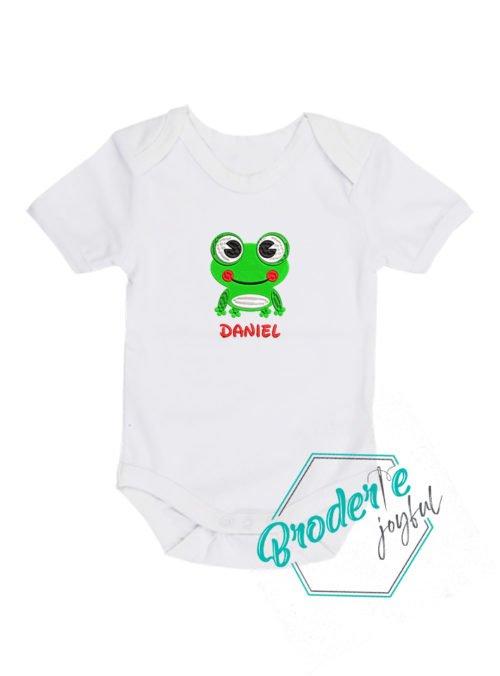 Body bebe brodat broscuta Daniel