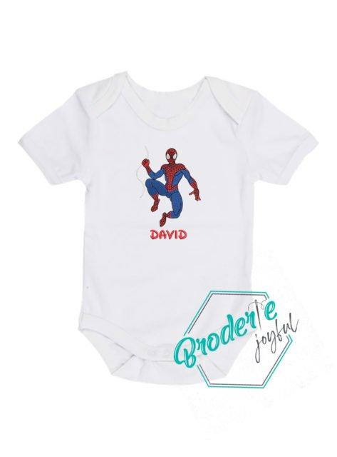 Body bebe brodat spider man David