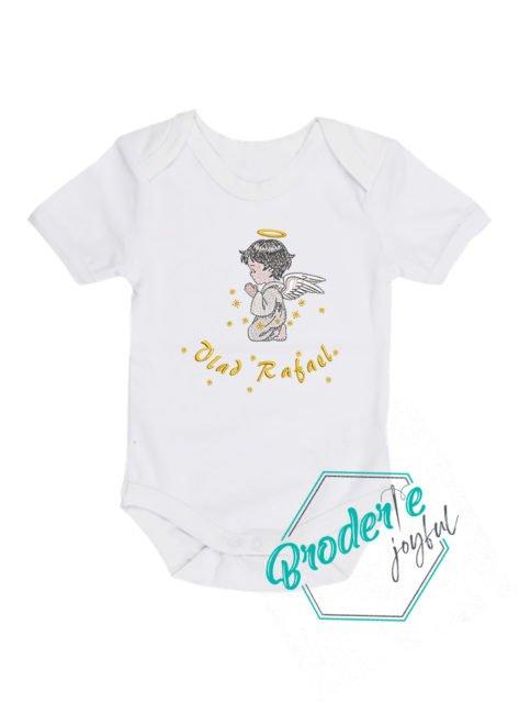 Body bebe brodat ingeras Rafael