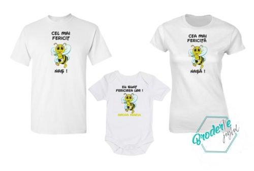 Set tricouri personalizate mot albinuta