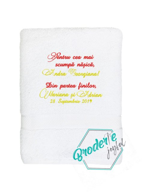 Prosop personalizat nunta Andra