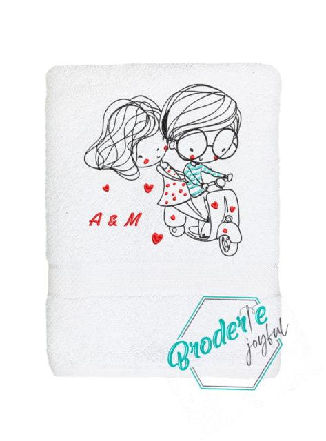 Prosop personalizat love initiale