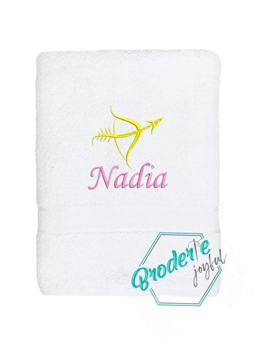 Prosop brodat sagetator Nadia