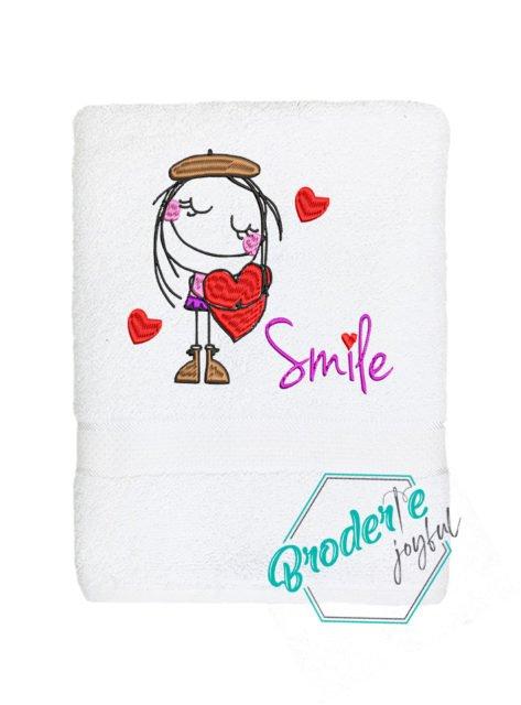 Prosop personalizat smile more