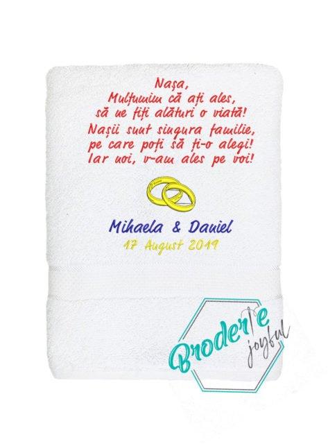 Prosop personalizat nunta Mihaela