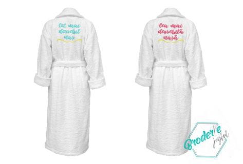 Set halate baie personalizate pentru nasi