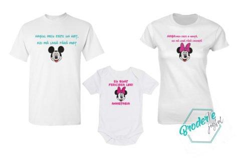 Set tricouri personalizate mot nasi