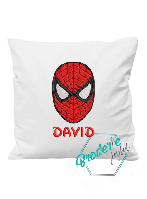 Pernuta brodata Spider mask David