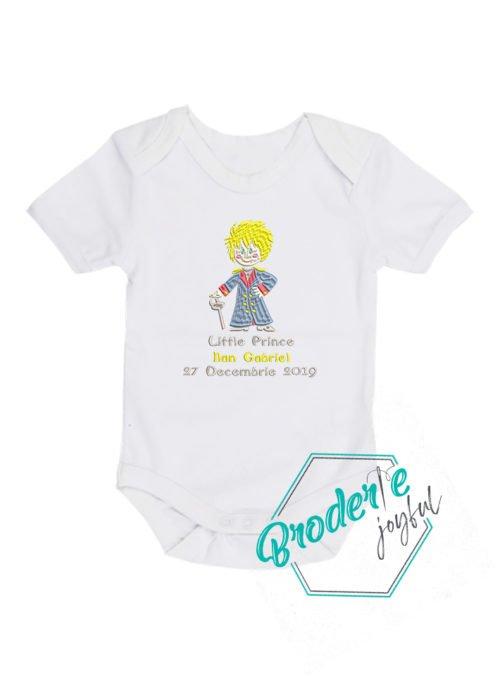 Body bebe brodat Little Prince Ilan