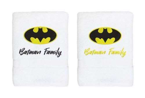 Set prosoape brodate Batman family