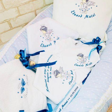 Set Trusou Botez personalizat Angel