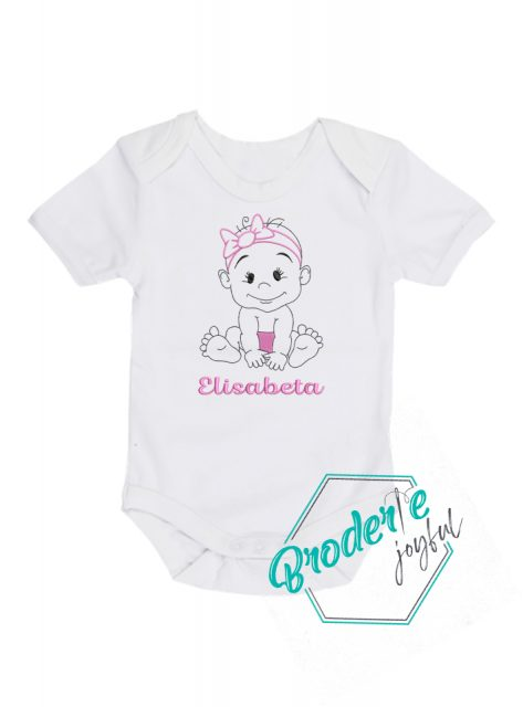 Body bebe personalizat Little girl