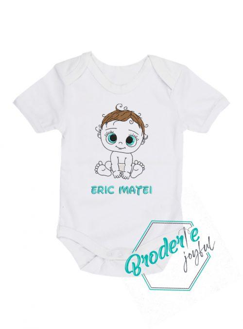 Body bebe personalizat/brodat cute baby