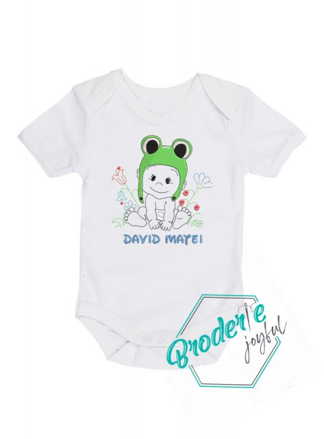 Body bebe personalizat/brodat baby adorabil