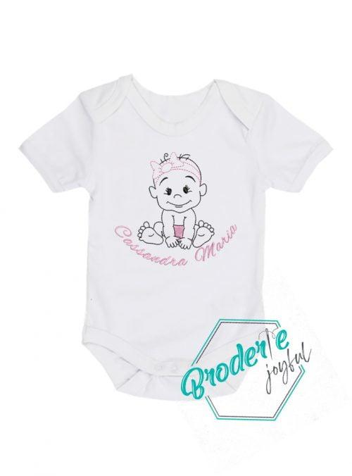 Body bebe personalizat little Cassandra