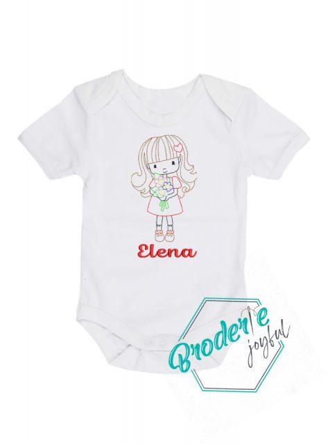 Body bebe personalizat Elena