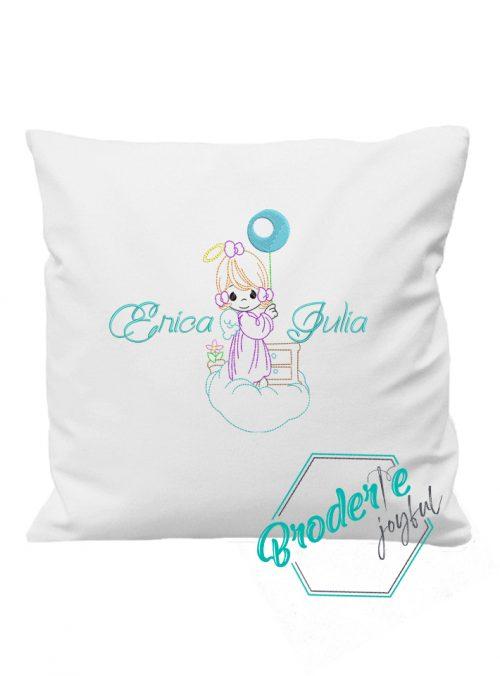 Pernuta personalizata little angel Erica