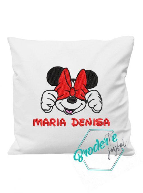 Pernuta personalizata Minnie Mouse Maria