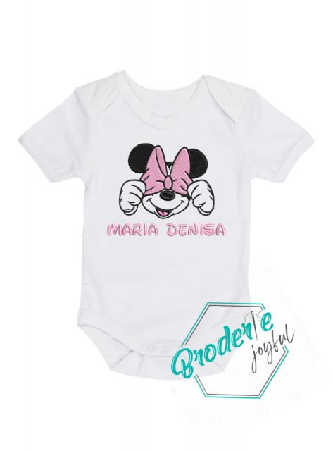Body bebe personalizat Minnie Denisa