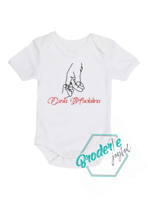 Body bebe personalizat Carla Madalina