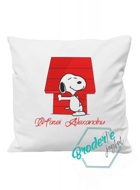 Pernuta personalizata Snoopy Alexandru