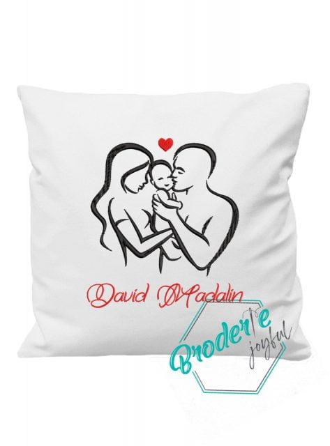 Pernuta personalizata family love